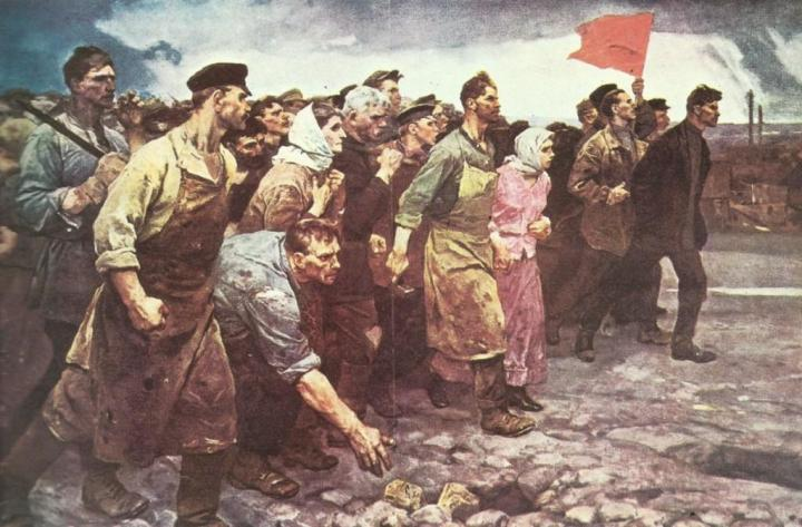 11-artist-unknown-1917-january-russia-petrograd-working-people-arise-general-strike-unknown-artist