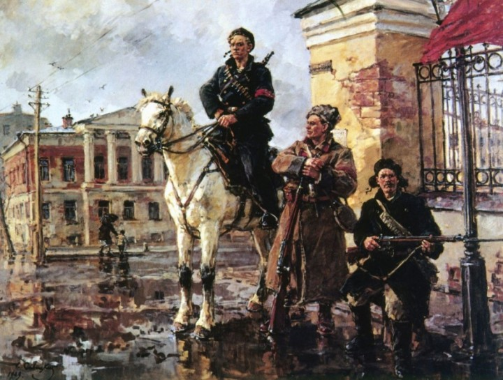 45-georgy-konstantinovich-savitsky-1887-1949-first-days-of-the-october-revolution-1949