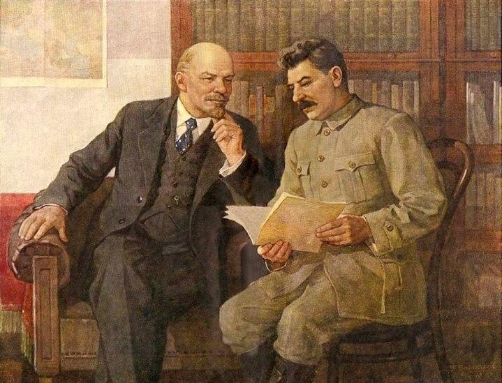 5-piotr-vasiliev-1909-1989-lenin-stalin-conversation-1940